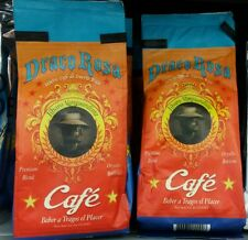 4 Bags of Café Molido Draco Rosa 100% de Puerto Rico Ground Coffee 8oz Premium
