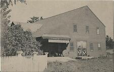 Postcard Vermont VT Weston Mill & Museum of Vermont Guild Windsor County 1950s