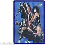 Kiss Rock Band Teen Magazine Cover   Refrigerator  / Fridge Magnet