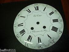 Cadran d'horloge comtoise recent réplique 18eme,pendule, coq,23cm,Morbier uhr  4