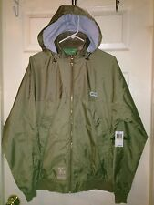 Lifted Research Group LRG men's Windbreaker Jacket W/hood M NWT RARE