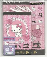 Sanrio Charmmy Kitty Stationery Set Sewing Rose