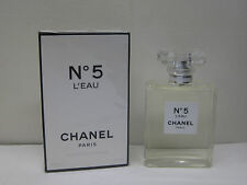 CHANEL No. 5 #5 L'EAU by CHANEL 3.4 oz 100ml EAU DE TOILETTE SPRAY NEW SEALED