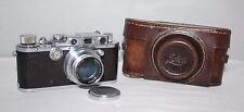 Leica III - 1934 Camera with Leica Summar 50mm f/2.0 lens + case - vgc