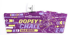 Disney WDW Run Half Marathon 2016 Dopey Challenge Purple Bondi Band Headband