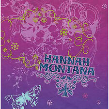 HANNAH MONTANA LUNCH NAPKINS (16) ~ Birthday Party Supplies Serviettes Dinner
