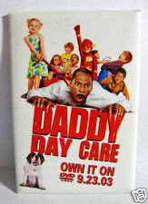"""Pinback Button Promo for Movie """"Daddy Day Care""""  Eddie Murphy DVD Release 2003"""