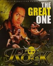 The Rock Great One 16x20 WWE WWF Poster 2000 Dwayne Johnson