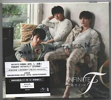 Infinite F: Koi no sign (2014 ) Korea Japan CD & 16p BOOKLET & PHOTO CARD TAIWAN