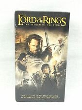 SEALED The Lord of the Rings: The Return of the King (VHS, 2004, 2-Tape Set 1417