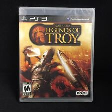 Warriors: Legends of Troy  (Sony Playstation 3) BRAND NEW / Region Free
