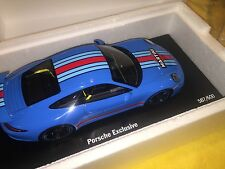 Porsche Exclusive 911 991 Carrera S Martini 1/18 NEW! Limited Ed. # 587 of 600