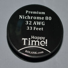 ROLANK Resistance Wire Nichrome 80 32G Wire Ni80 32 Gauge 0.2MM Free Shipping