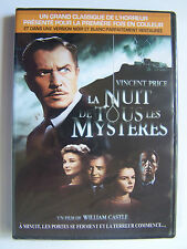 LA NUIT DE TOUS LES MYSTERES - WILLIAM CASTLE - VERSION COLORISE ET N & B - NEUF