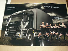 GRAND Catalogue Camion IVECO EUROCARGO ALL BLACKS  brochure LKW  truck