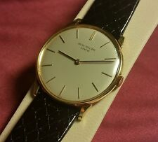 1965 PATEK PHILIPPE 2573/1 Wrist Watch,18K Yellow Gold, 32mm, Archive Extract!!