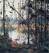 """Group of Seven, Tom Thomson """"Northern River"""" Large Print"""
