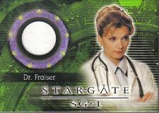 STARGATE SEASON SIX COSTUME CARD C19 FRAISER