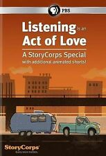 Listening Is an Act of Love: A StoryCorps Special (DVD, 2014)