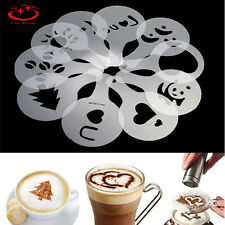 16x Different Design Pack Coffee Milk Cake Cupcake Stencil Template DIY Mold