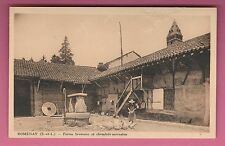 71 - ROMENAY - Ferme Bressane et Cheminée Sarrasine (CP non voyagée)