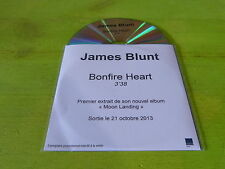 JAMES BLUNT - BONFIRE HEART !!!!!!!!!!! RARE FRENCH CD PROMO