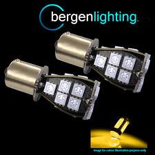 581 BAU15s PY21W XENO ambra 21 SMD LED Anteriore Indicatore Lampadine HID fi201901