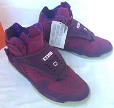 new Converse Aero Jam Invader 146707C Purple LJ Basketball Shoes Men's 8.5 NBA