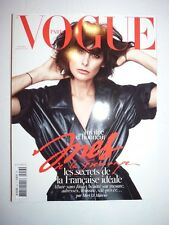 Magazine VOGUE PARIS fashion French #953 décembre 2014 Ines de la Fressange