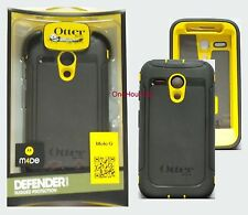 OtterBox Defender Series Case for Motorola Moto G, Black Yellow 77-33030 1st Gen