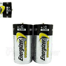 2 x Energizer C size batteries Industrial 1.5V LR14 MN1400 EN93 Baby EXP:2026