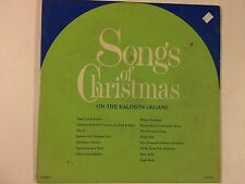 Songs of Christmas On The Baldwin Organs - Baldwin Piano Company vg/vg