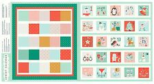 Dashwood Studio Fabric. Festive Friends Advent Calendar. Sew Your Own. Per FQ