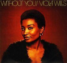 VIOLA WILLS without you CR 30179 near mint disc uk charly LP PS EX/EX
