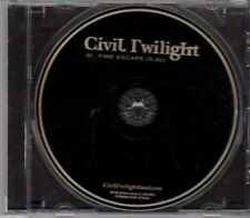 (DH693) Civil Twilight, Fire Escape - 2011 DJ CD