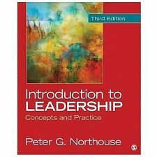 Introduction to Leadership: Concepts and Practice, Northouse, Peter G., Good Boo