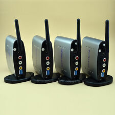 2.4GHz Audio Video AV Wireless 1 Sender 3 Receiver IR