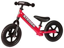 STRIDER 12 Sport Kids Balance Bike No-Pedal Learn To Ride Pre Bike RED NEW