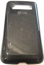 LG Univa E510 Optimus Oem Cell Phone Battery Door Back Cover Housing Case Black