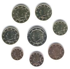 Belgio 2011 - Set da 8 Euro Monete (UNC)