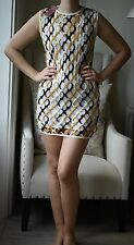 MISSONI PERFORATED FISHNET STYLE DRESS IT 42 UK 10
