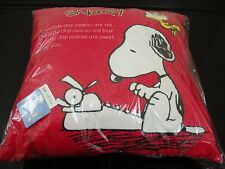 TEEN KIDS PEANUTS SNOOPY PILLOW SET - AUTHENTIC JAPAN 2016 NWT