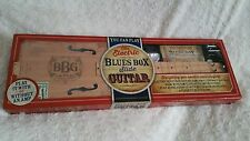 NEW Electric Blues Box Slide Guitar Build Your Own Cigar Box Guitar Kit Gift Box