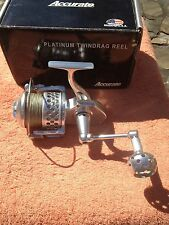Accurate SR-30 Platinum Twindrag Spinning Reel