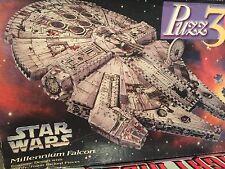 Milton Bradley Puzz-3D Millenium Falcon 3-D Puzzle 857 Pieces