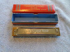 VINTAGE MARINE BAND #365 HARMONICA - MADE IN GERMANY - W/ BOX - M. HOHNER