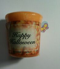 YANKEE CANDLE VOTIVE HAPPY HALLOWEEN RARE AND AWESOME HUNDREDS LISTED