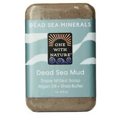 One With Nature Dead Sea Mud Soap 7 oz