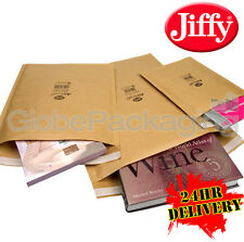 200 x JIFFY JL1 PADDED DVD CD BAGS ENVELOPES 170x245mm
