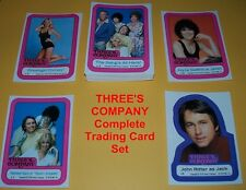 THREE'S COMPANY TV Series  Complete Trading Card Set  John Ritter